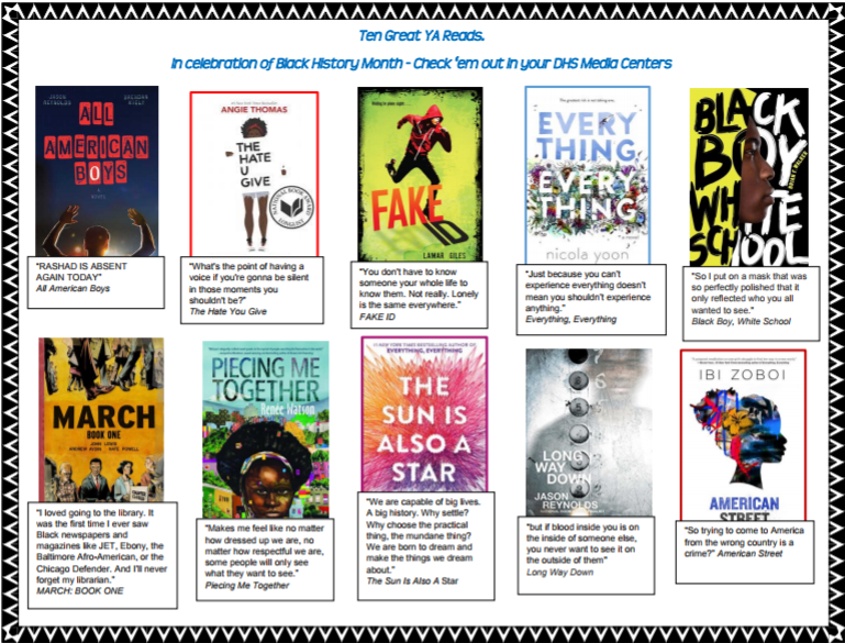 Check Out Some Great Books for Black History Month!