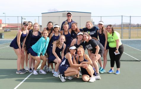 This Weeks Girl's Tennis Match