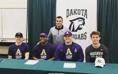 National Signing Day at Dakota High School