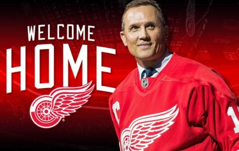 Steve Yzerman Comes Home