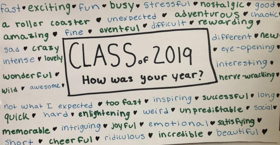 Class of 2019: Senior Reflection