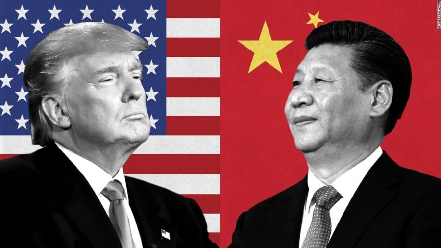 President+Donald+Trump+left%2C+President+Xi+Jinping+right