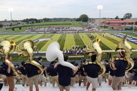 Dakota Marching Band Performance (Staff Barbecue and Football game) (Photos)