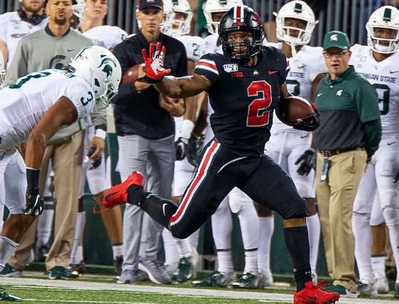 Spartans Outmatched by #4 Ohio State in 34-10 Loss