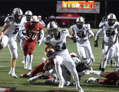 Dakota Stuns Chip in 34-13 Upset