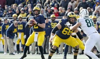 Michigan Dominates MSU in 44-10 Win