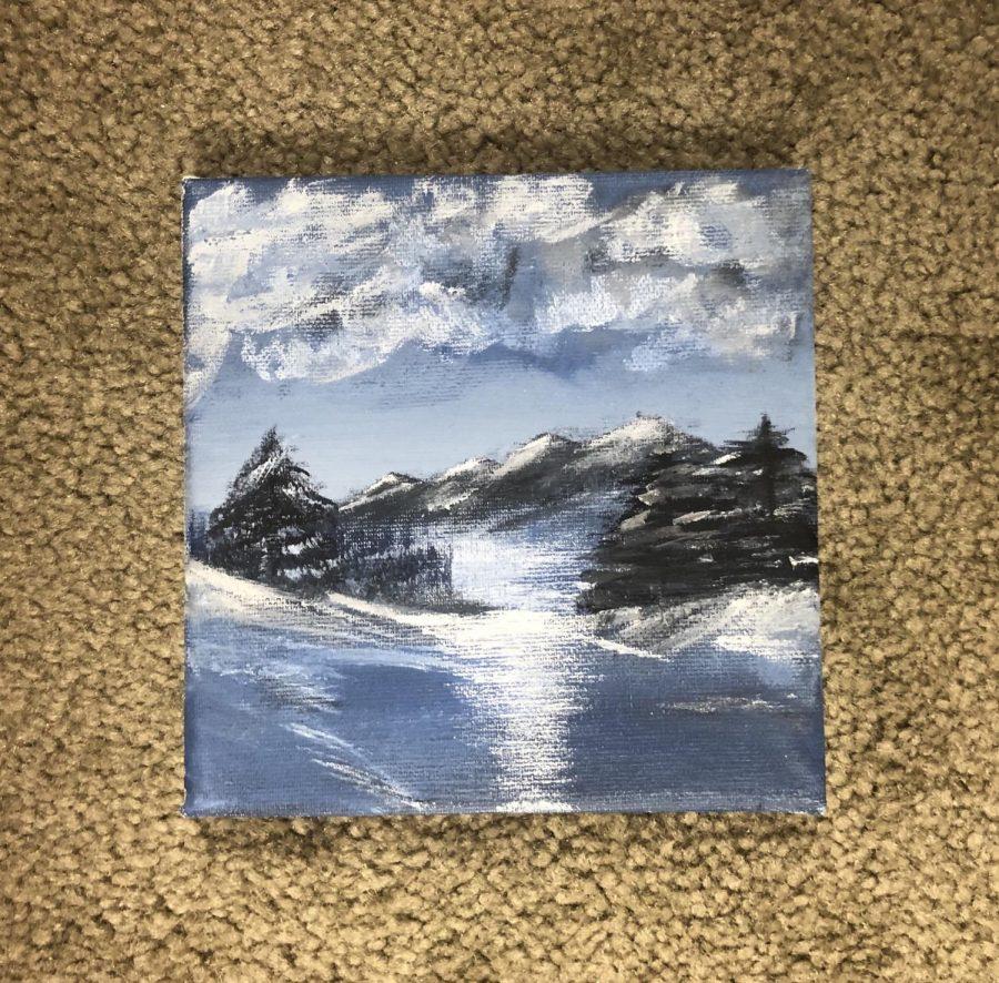I Followed a Bob Ross Painting Tutorial