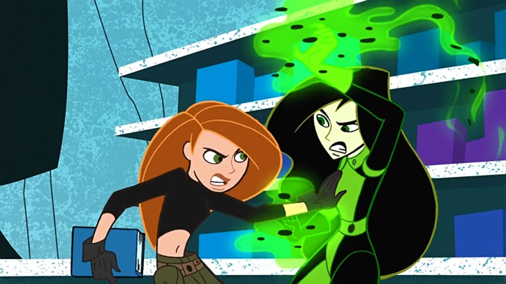A Super POSSIBLE Halloween Costume DIY: Kim Possible and Shego