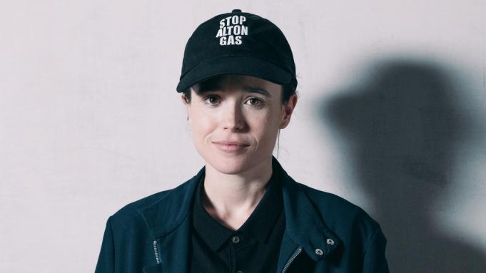 Portrait of Ellen Page