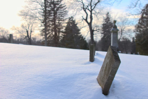 Cemetery Snow - Photo Series