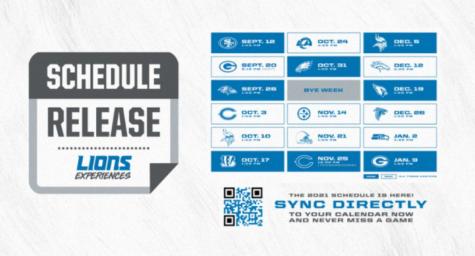Lions Release 2021 Schedule... We