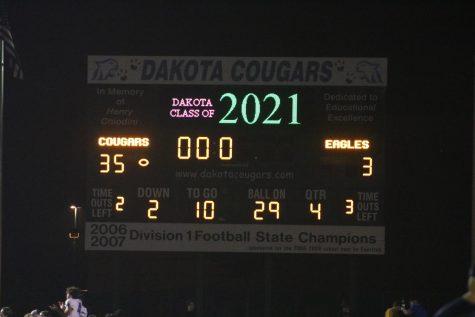 Varsity Football Homecoming Game Photos (Eisenhower @ Dakota) - 10/8/21